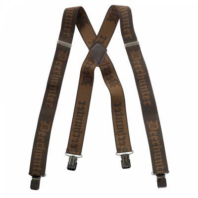 Naramnice za hlače Deerhunter Logo Braces w. Clips - 130 cm | 8029