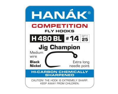Muharski trnki HANAK 480 BL Czech Jig Champion 25 kos | #8