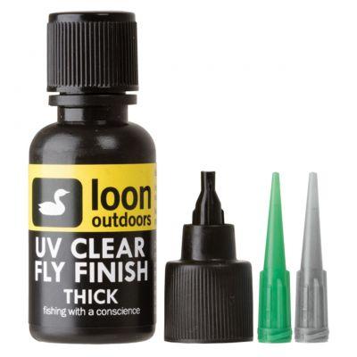 UV nanos Loon Outdoors UV CLEAR FLY FINISH THICK   debel