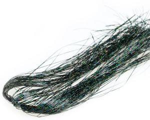Bleščice   material za vezavo SYBAI Holographic Tinsel Hair   Black