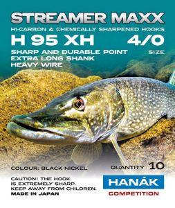 Muharski trnki za potezanke HANAK STREAMER MAXX H 95 XH | #4/0 10 kos