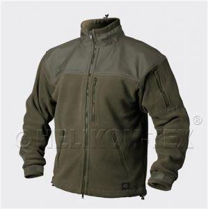 Flis jakna Helikon-Tex CLASSIC ARMY Jacket Fleece (Olive Green)
