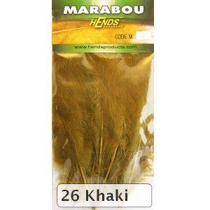 Marabu za vezavo muh HENDS MARABOU - KHAKI   M-26