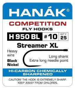 Muharski trnki HANAK 950 BL Streamer XL 25 kos | #6