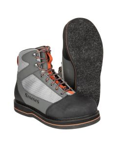 Muharski čevlji s filcem Simms Tributary Felt Striker Grey