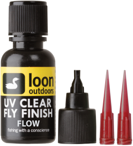 Tanek UV gel Loon Outdoors UV CLEAR FLY FINISH FLOW | tekoč