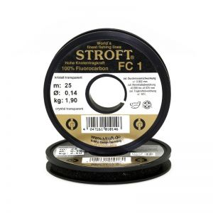 Fluorocarbon laks STROFT FC 1 0,22 mm (25 m)
