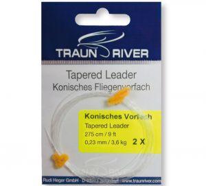 Konična predvrvica TRAUN RIVER konisches Vorfach | 0.27 mm