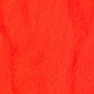 Material za vezavo muh globak - globag WAPSI EGG YARN   fl. fire orange